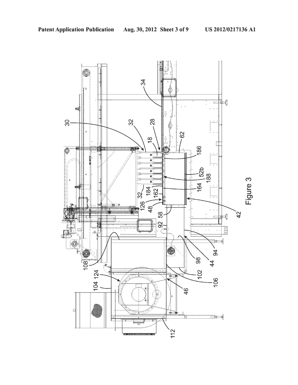 VACUUM CONVEYOR APPARATUS FOR STABILIZING MULTIPLE LANES OF OBJECTS     CONVEYED ON A CONVEYING SURFACE OF THE APPARATUS - diagram, schematic, and image 04