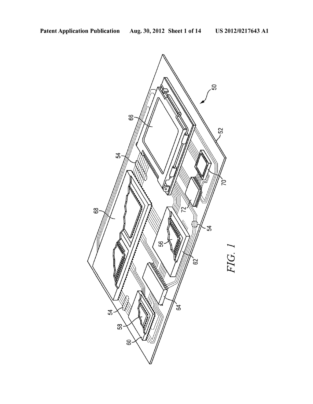Semiconductor Device and Method of Forming Bond Wires Between     Semiconductor Die Contact Pads and Conductive TOV in Peripheral Area     Around Semiconductor Die - diagram, schematic, and image 02