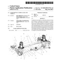SUSPENSION OF A VEHICLE AXLE AND VEHICLE diagram and image