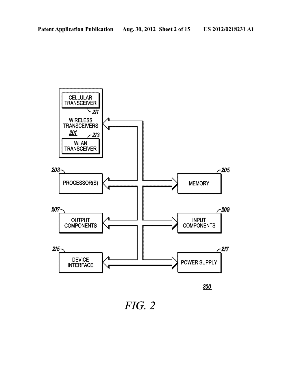 Electronic Device and Method for Calibration of a Touch Screen - diagram, schematic, and image 03