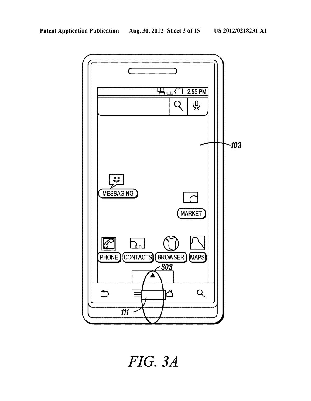 Electronic Device and Method for Calibration of a Touch Screen - diagram, schematic, and image 04