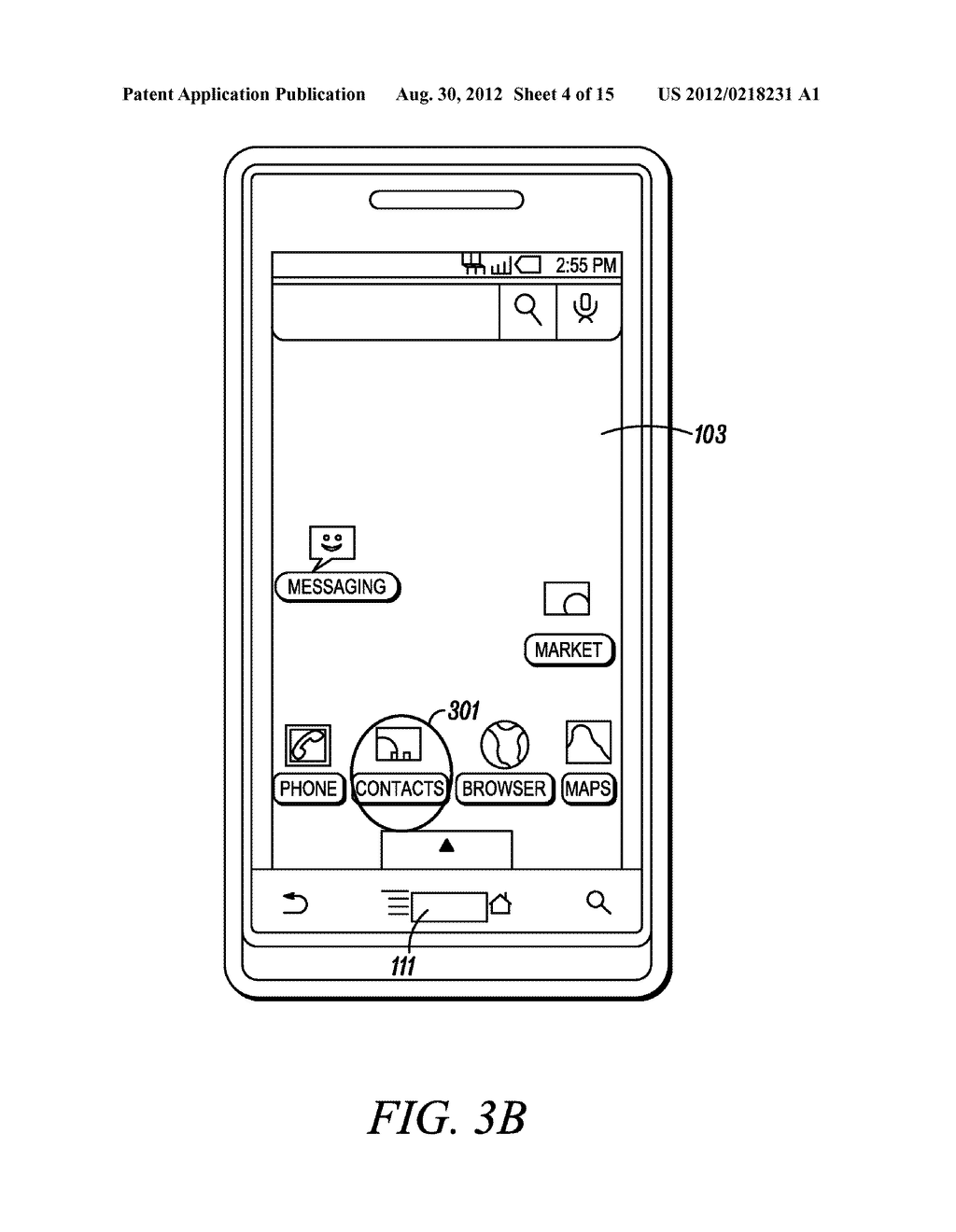 Electronic Device and Method for Calibration of a Touch Screen - diagram, schematic, and image 05