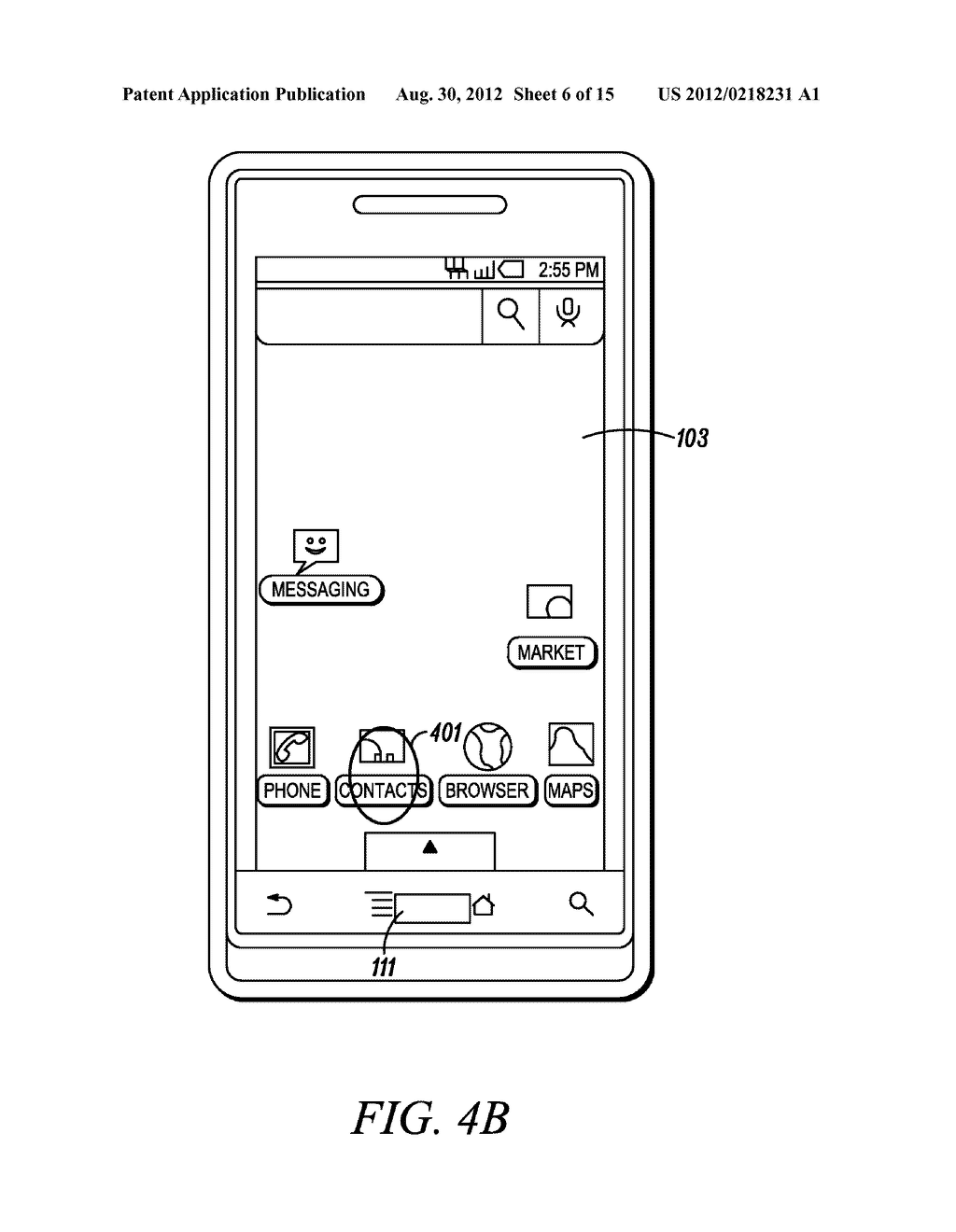 Electronic Device and Method for Calibration of a Touch Screen - diagram, schematic, and image 07