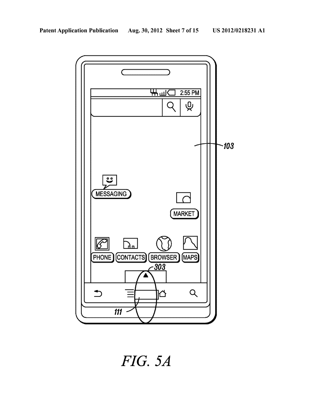 Electronic Device and Method for Calibration of a Touch Screen - diagram, schematic, and image 08