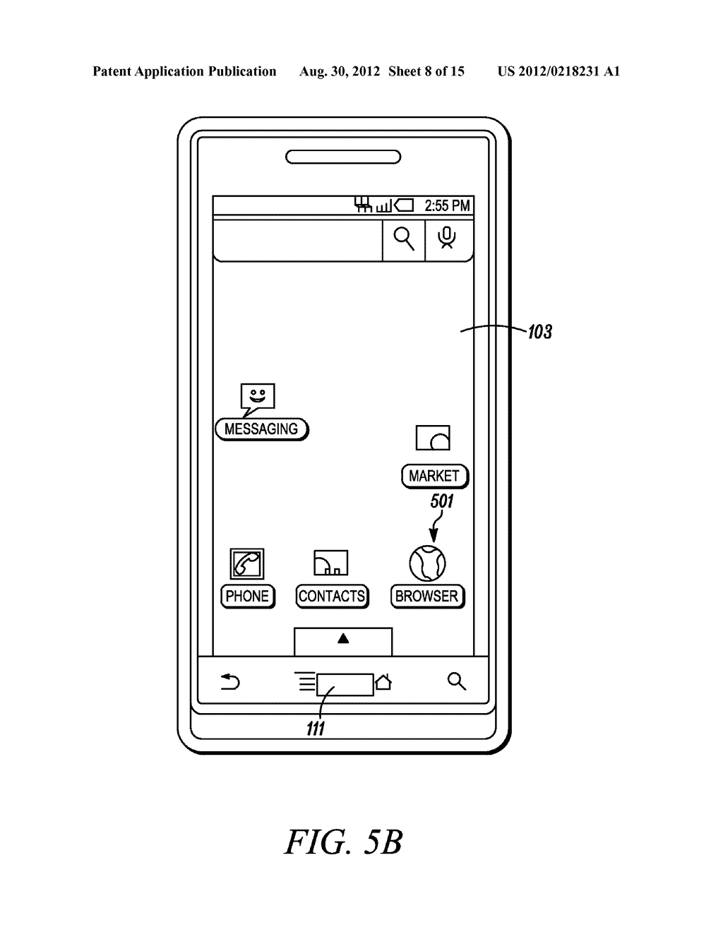 Electronic Device and Method for Calibration of a Touch Screen - diagram, schematic, and image 09