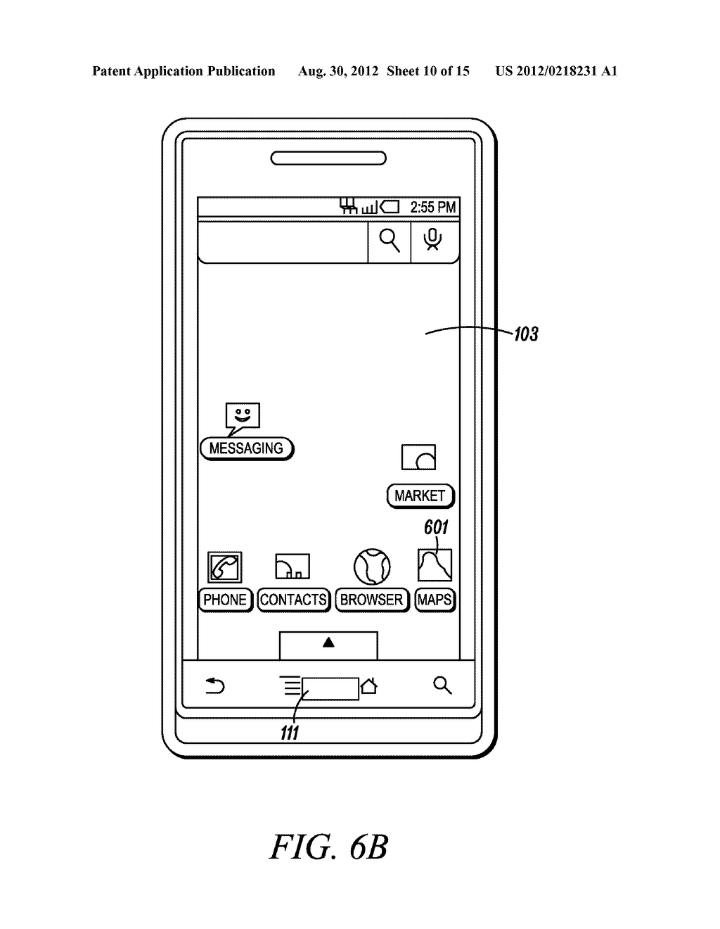 Electronic Device and Method for Calibration of a Touch Screen - diagram, schematic, and image 11