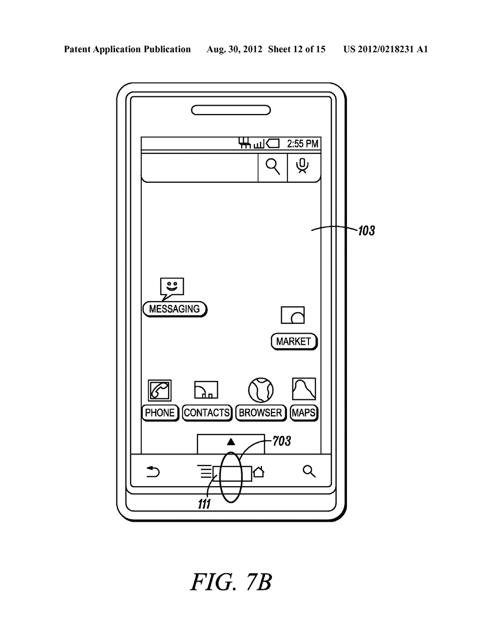 Electronic Device and Method for Calibration of a Touch Screen - diagram, schematic, and image 13