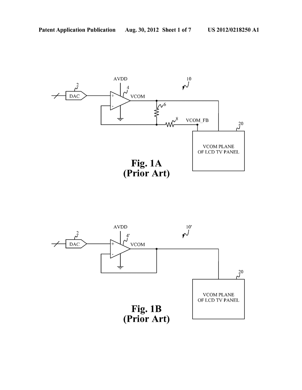 VCOM AMPLIFIER WITH TRANSIENT ASSIST CIRCUIT - diagram, schematic, and image 02