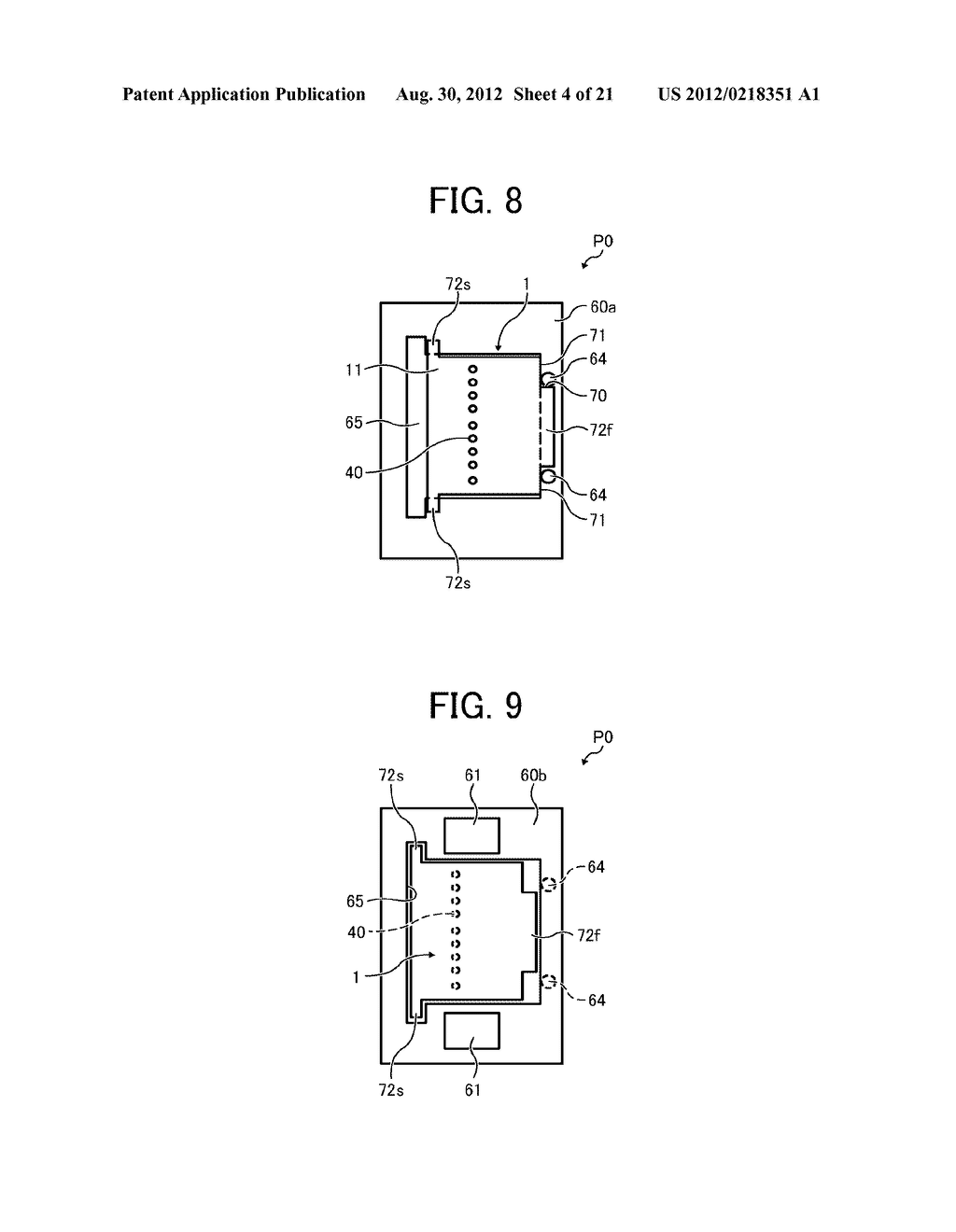 INKJET PRINTHEAD FOR USE IN IMAGE FORMING APPARATUS - diagram, schematic, and image 05