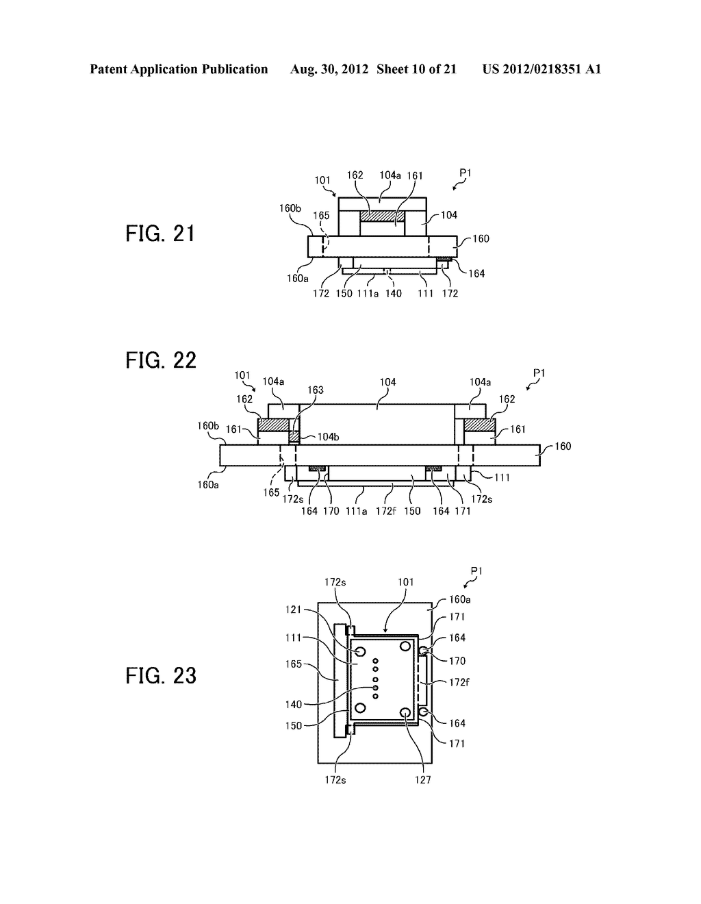 INKJET PRINTHEAD FOR USE IN IMAGE FORMING APPARATUS - diagram, schematic, and image 11
