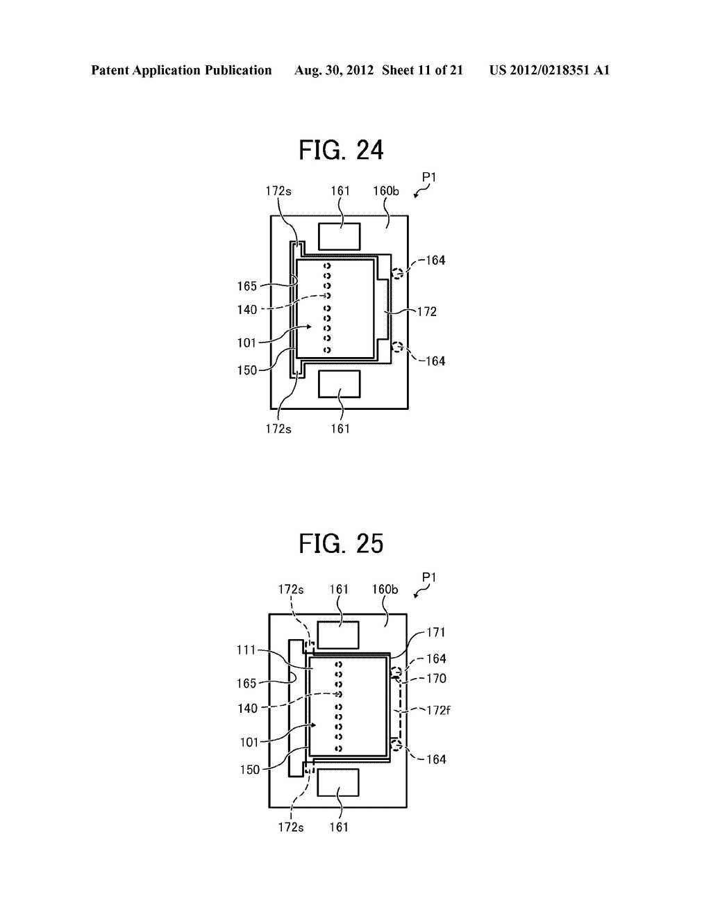 INKJET PRINTHEAD FOR USE IN IMAGE FORMING APPARATUS - diagram, schematic, and image 12