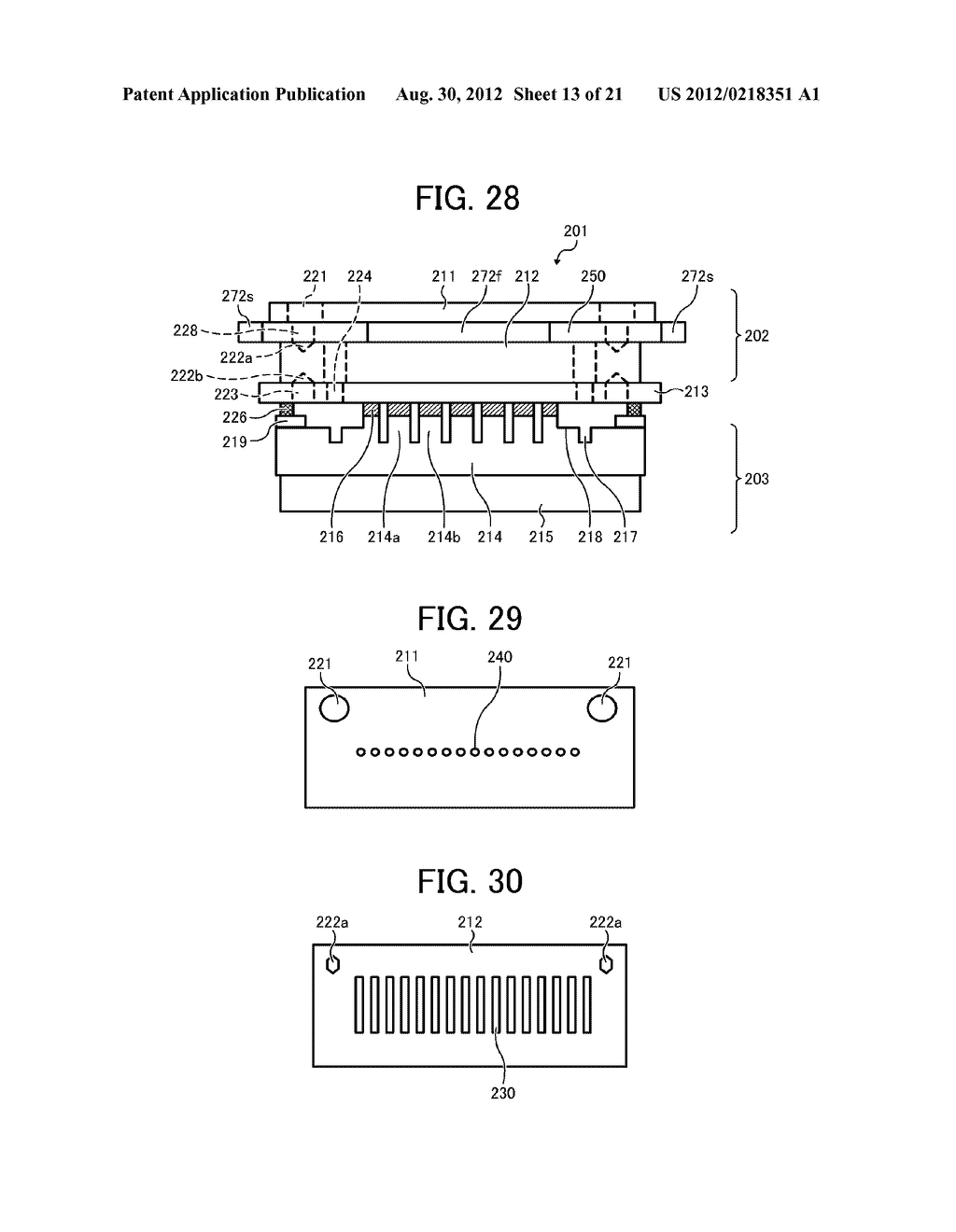 INKJET PRINTHEAD FOR USE IN IMAGE FORMING APPARATUS - diagram, schematic, and image 14