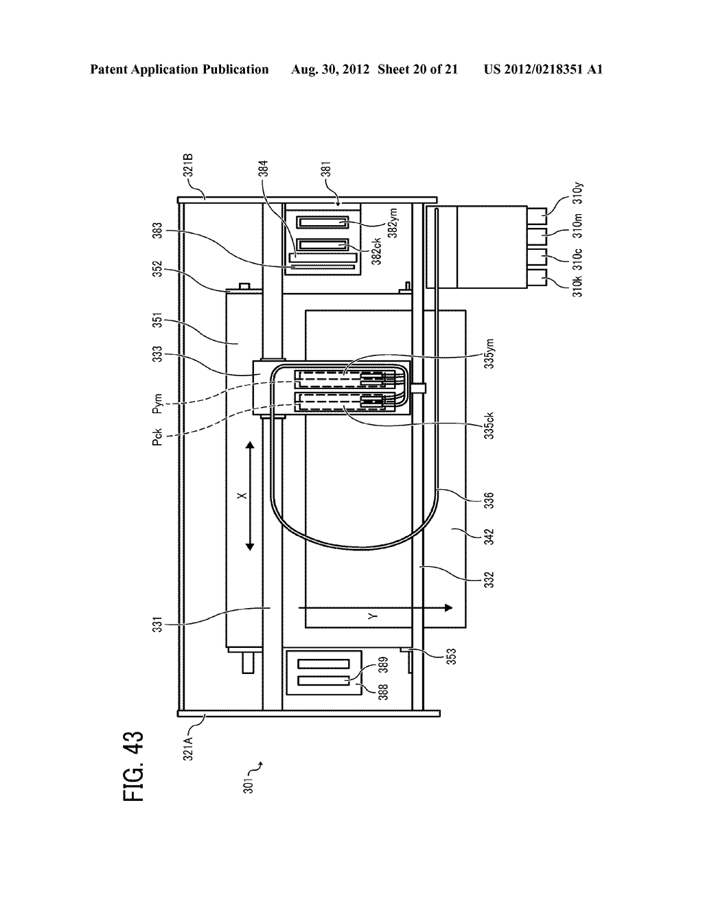 INKJET PRINTHEAD FOR USE IN IMAGE FORMING APPARATUS - diagram, schematic, and image 21