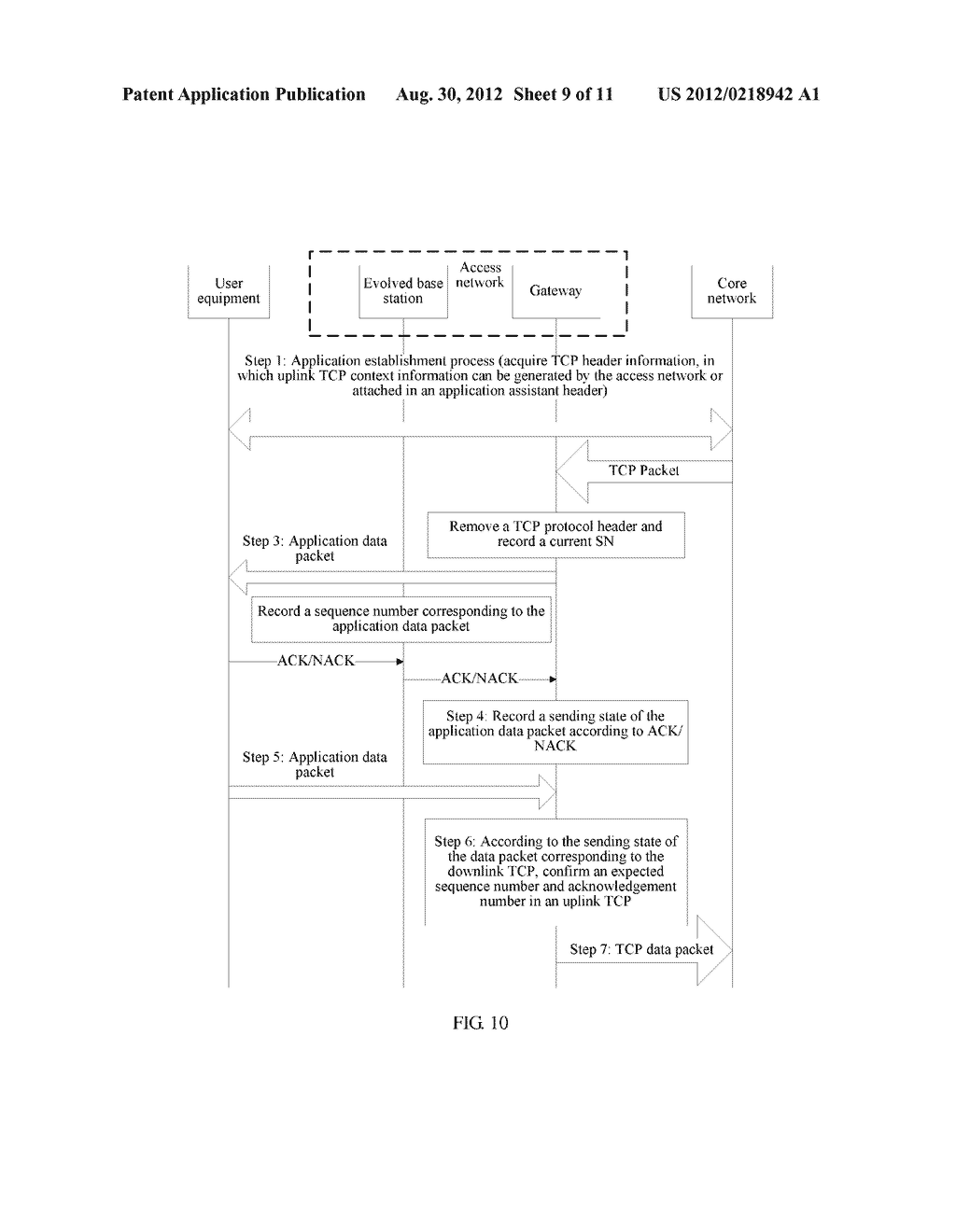DATA TRANSMISSION METHOD, APPARATUS AND SYSTEM - diagram, schematic, and image 10