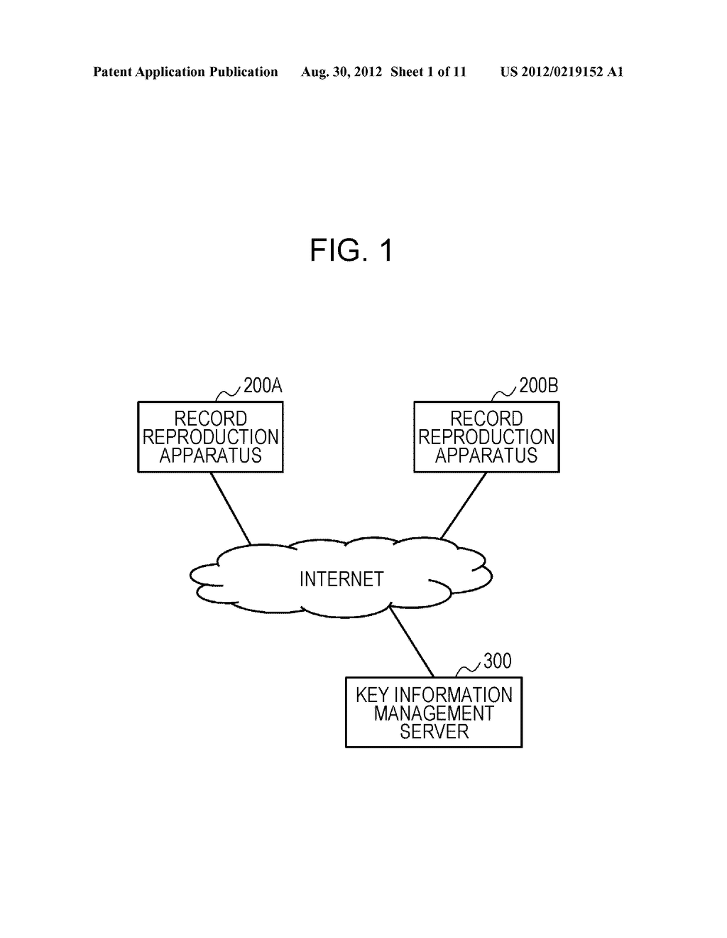 KEY INFORMATION MANAGEMENT SYSTEM, RECORD REPRODUCTION APPARATUS, AND KEY     INFORMATION MANAGEMENT APPARATUS - diagram, schematic, and image 02