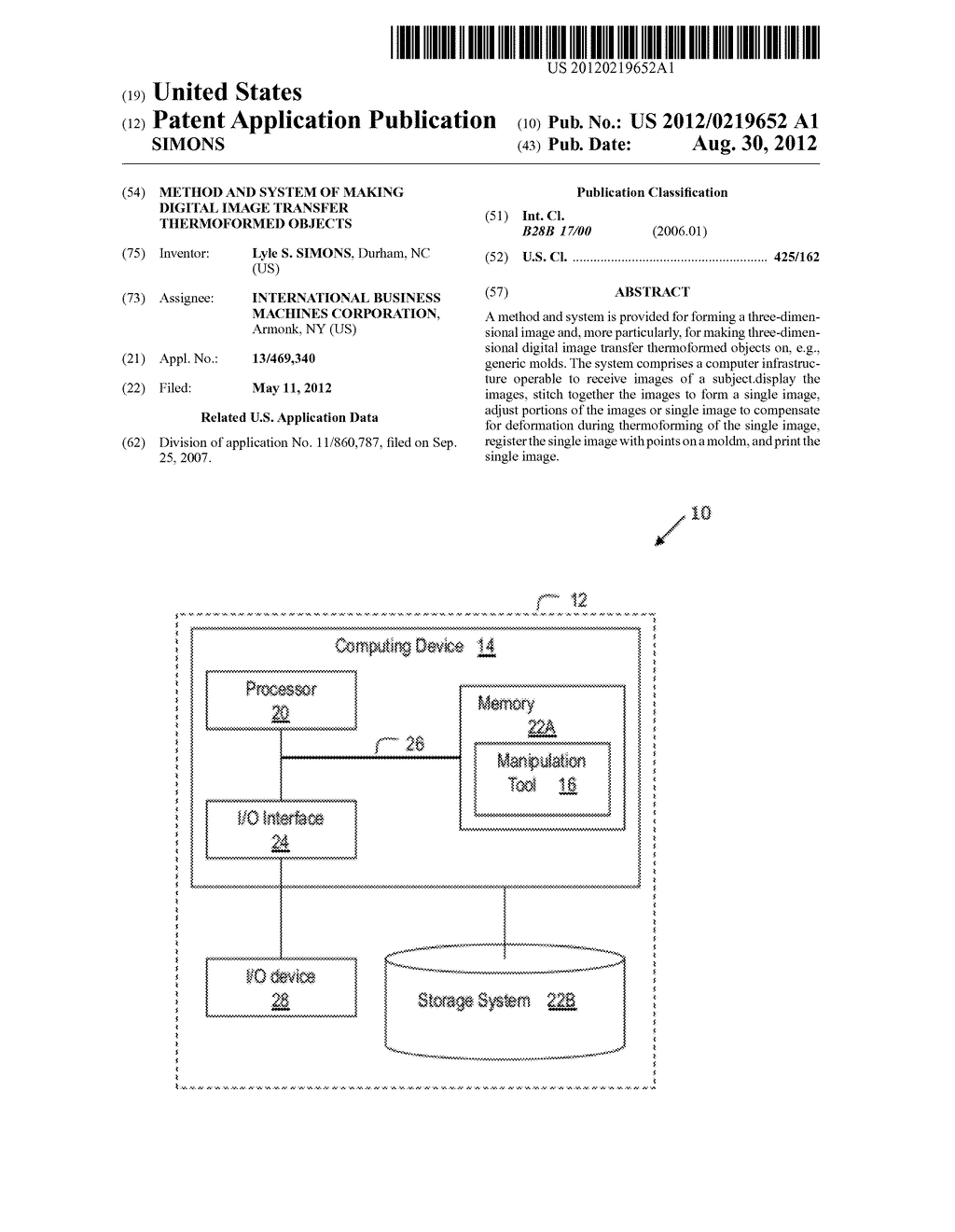METHOD AND SYSTEM OF MAKING DIGITAL IMAGE TRANSFER THERMOFORMED OBJECTS - diagram, schematic, and image 01