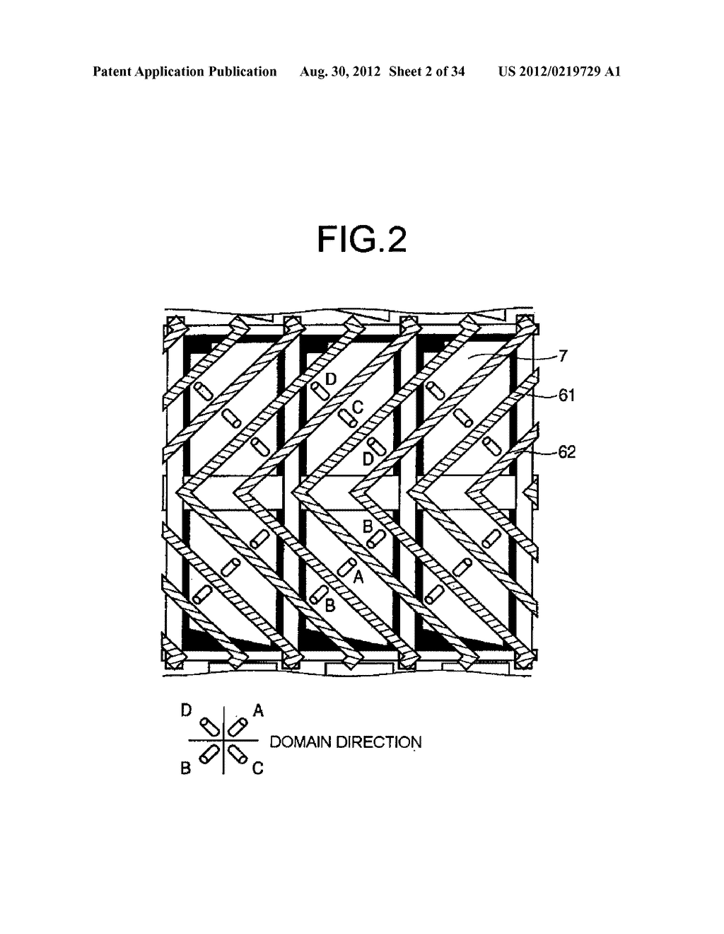LIQUID CRYSTAL DISPLAY AND METHOD OF MANUFACTURING THE SAME - diagram, schematic, and image 03