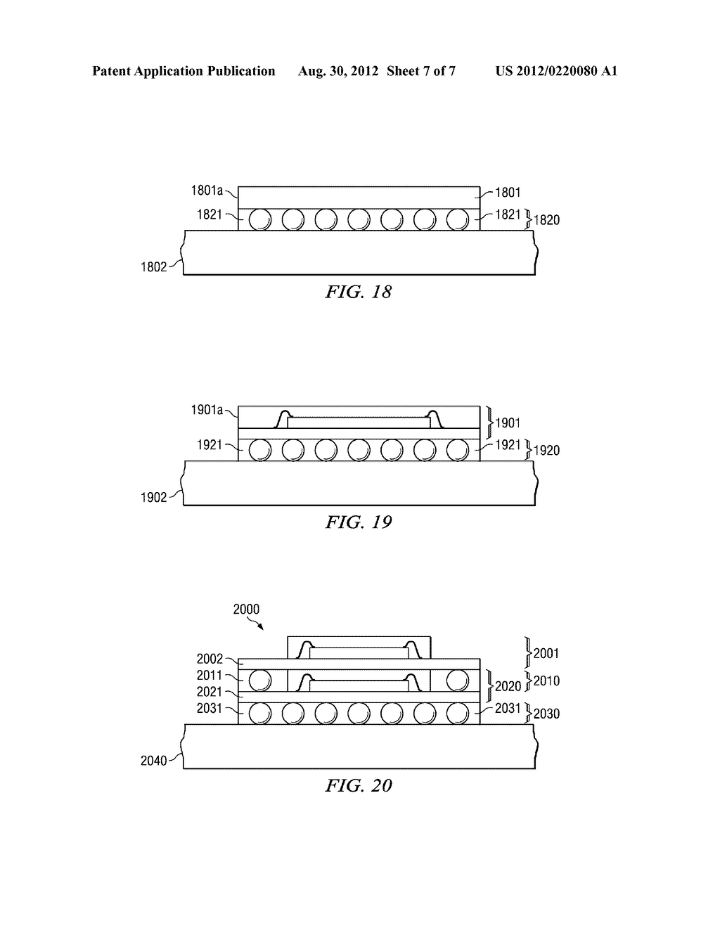 Method for Fabricating Flip-Attached and Underfilled Semiconductor Devices - diagram, schematic, and image 08