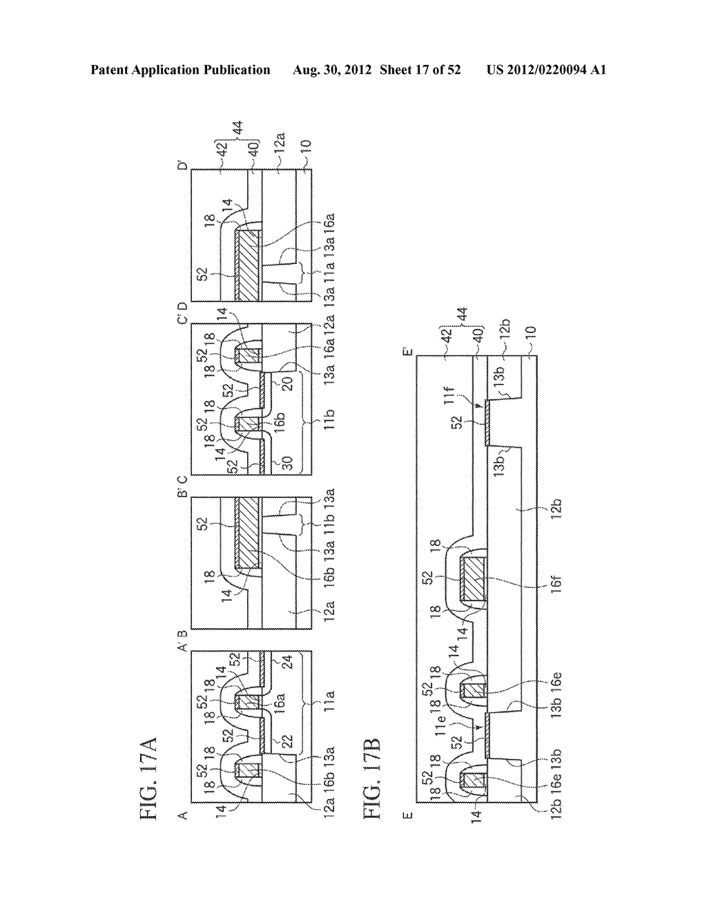 SEMICONDUCTOR DEVICE MANUFACTURING METHOD - diagram, schematic, and image 18