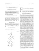 CYCLIC-GLUR6 ANALOGS, METHODS OF TREATMENT AND USE diagram and image