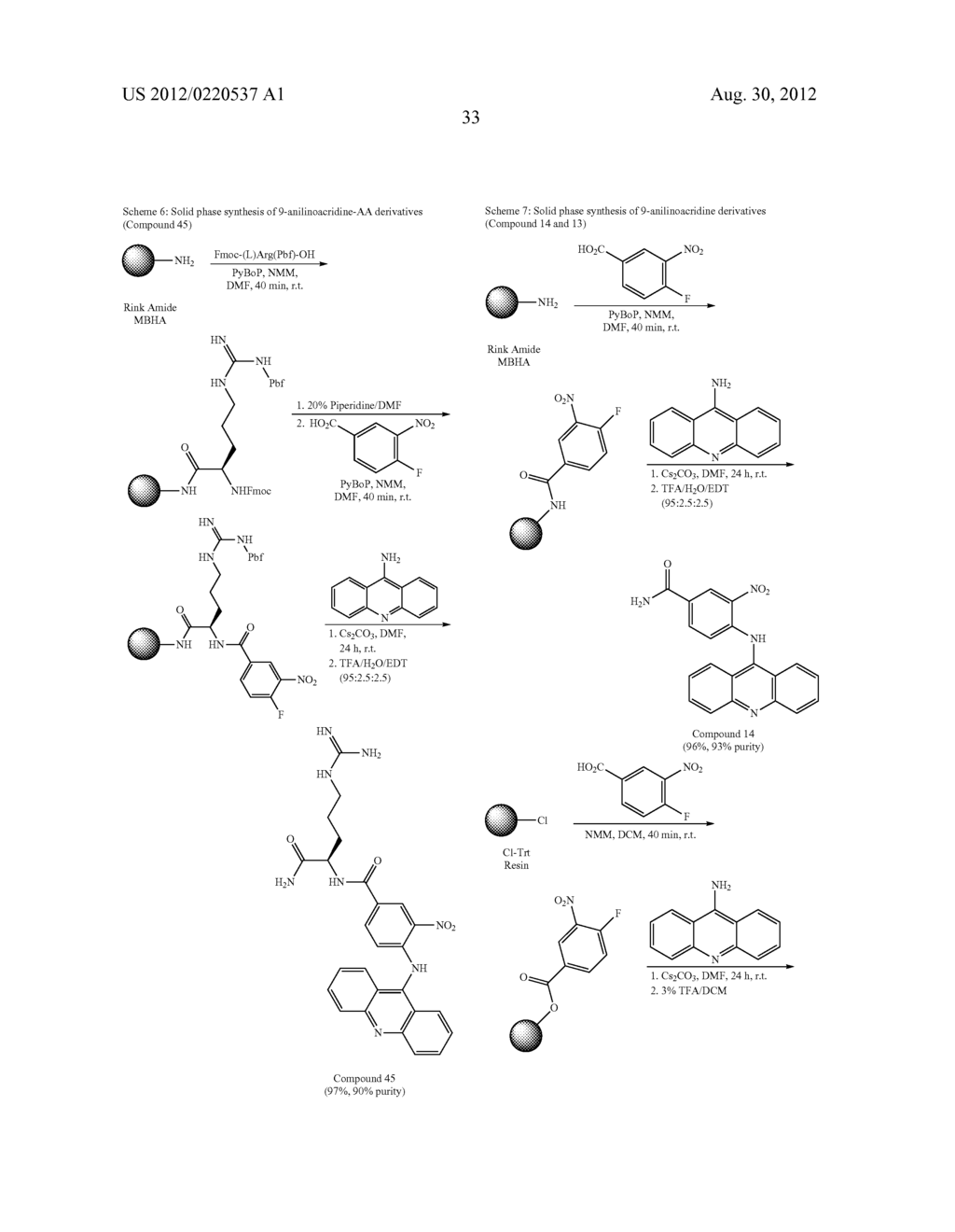 9-AMINOACRIDINE DERIVATIVES, THEIR PREPARATION AND USES - diagram, schematic, and image 35
