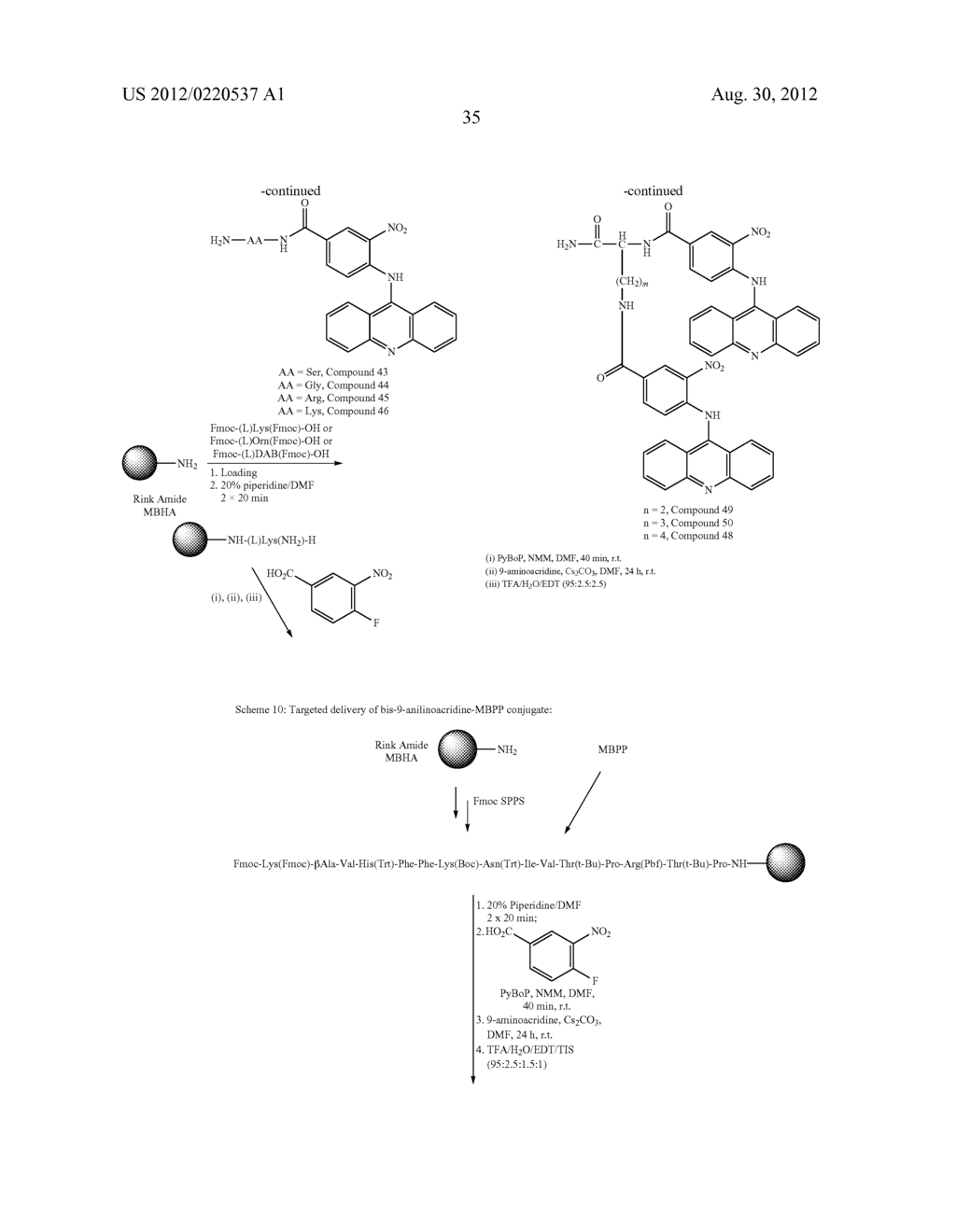 9-AMINOACRIDINE DERIVATIVES, THEIR PREPARATION AND USES - diagram, schematic, and image 37