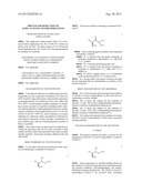 PROCESS FOR REDUCTION OF ALPHA-ACYLOXY SULFIDE DERIVATIVES diagram and image
