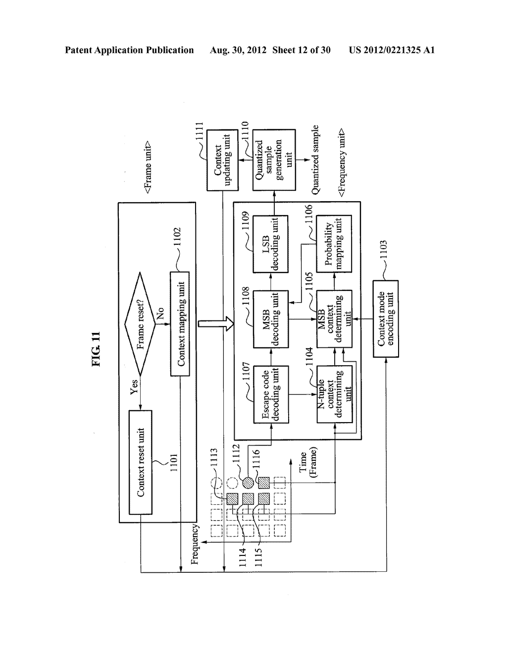 CONTEXT-BASED ARITHMETIC ENCODING APPARATUS AND METHOD AND CONTEXT-BASED     ARITHMETIC DECODING APPARATUS AND METHOD - diagram, schematic, and image 13