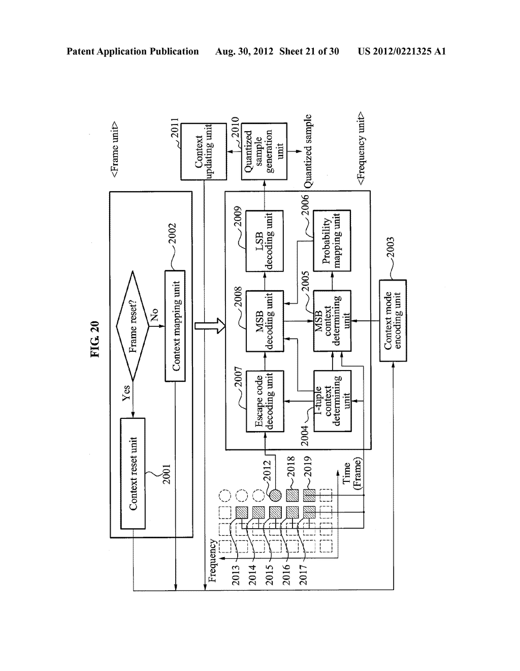 CONTEXT-BASED ARITHMETIC ENCODING APPARATUS AND METHOD AND CONTEXT-BASED     ARITHMETIC DECODING APPARATUS AND METHOD - diagram, schematic, and image 22