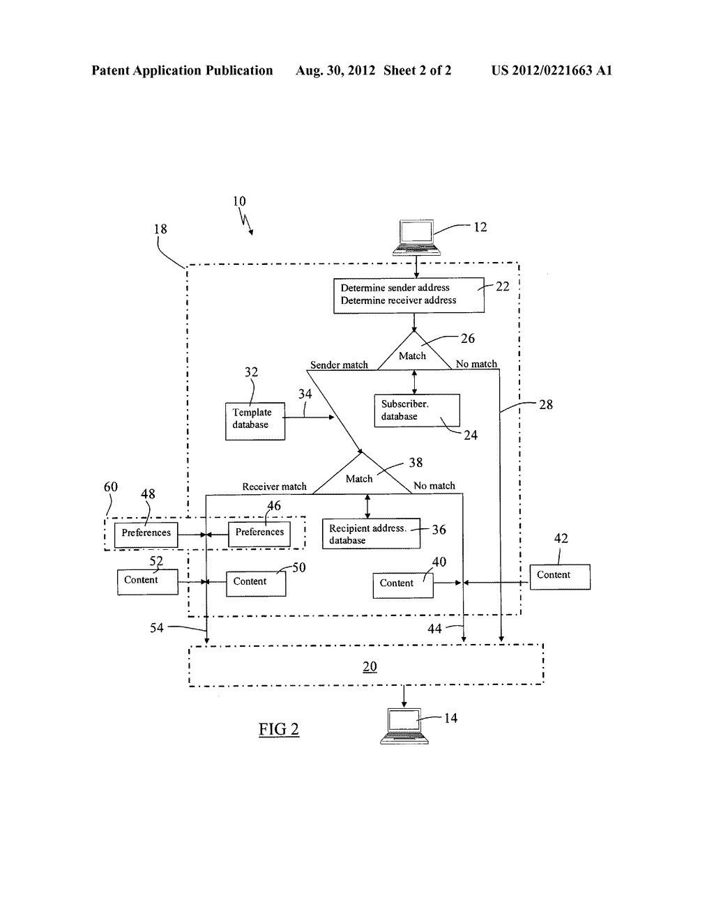 METHOD OF COMPILING AN ELECTRONIC MESSAGE - diagram, schematic, and image 03