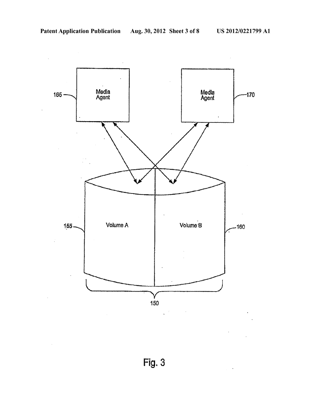 SYSTEMS AND METHODS FOR PERFORMING STORAGE OPERATIONS IN A COMPUTER     NETWORK - diagram, schematic, and image 04
