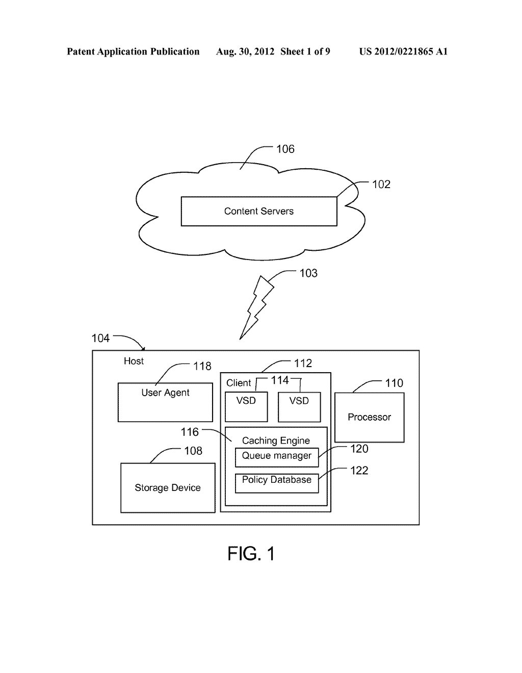 METHOD AND APPARATUS FOR PROTECTING CACHED STREAMS - diagram, schematic, and image 02
