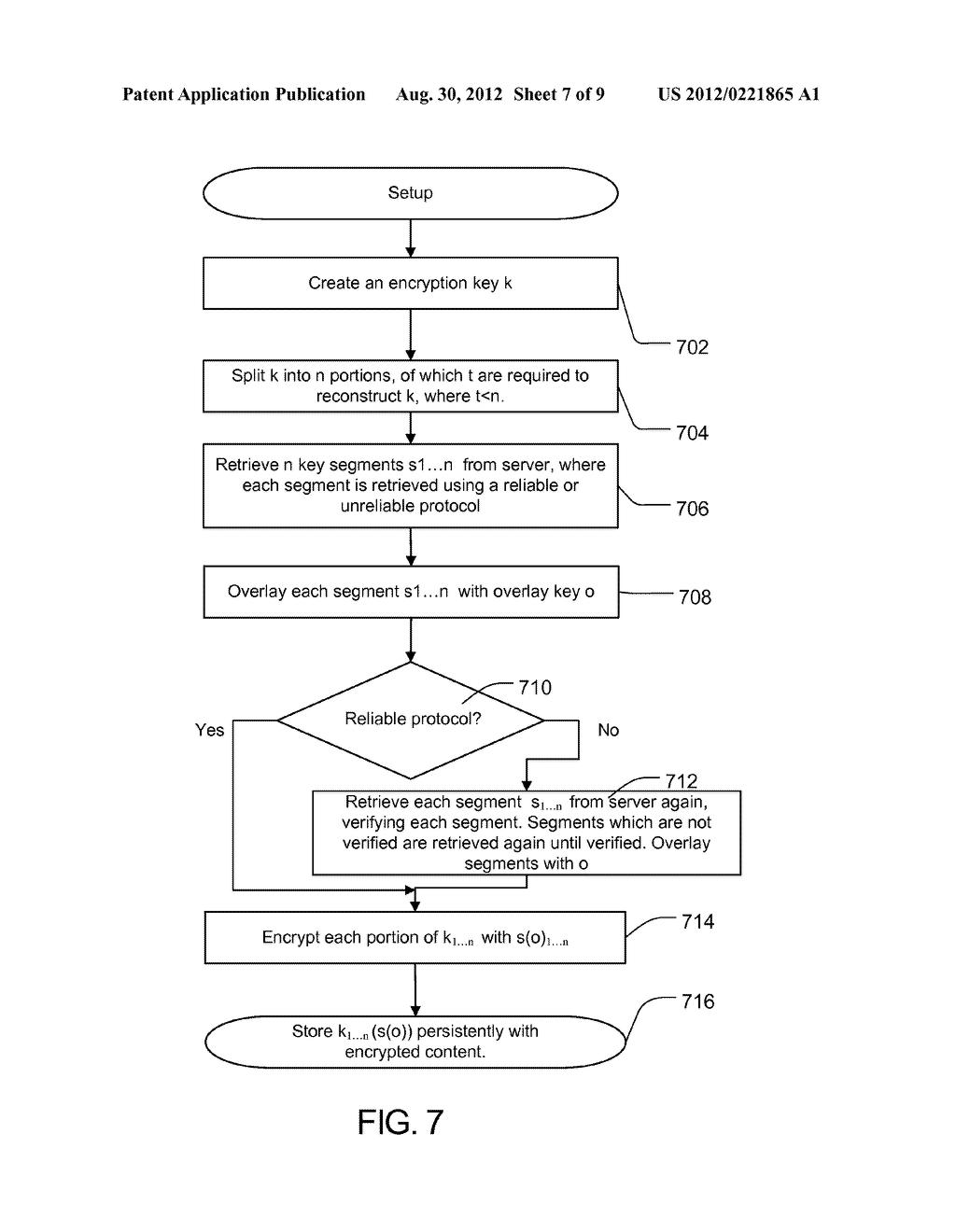 METHOD AND APPARATUS FOR PROTECTING CACHED STREAMS - diagram, schematic, and image 08