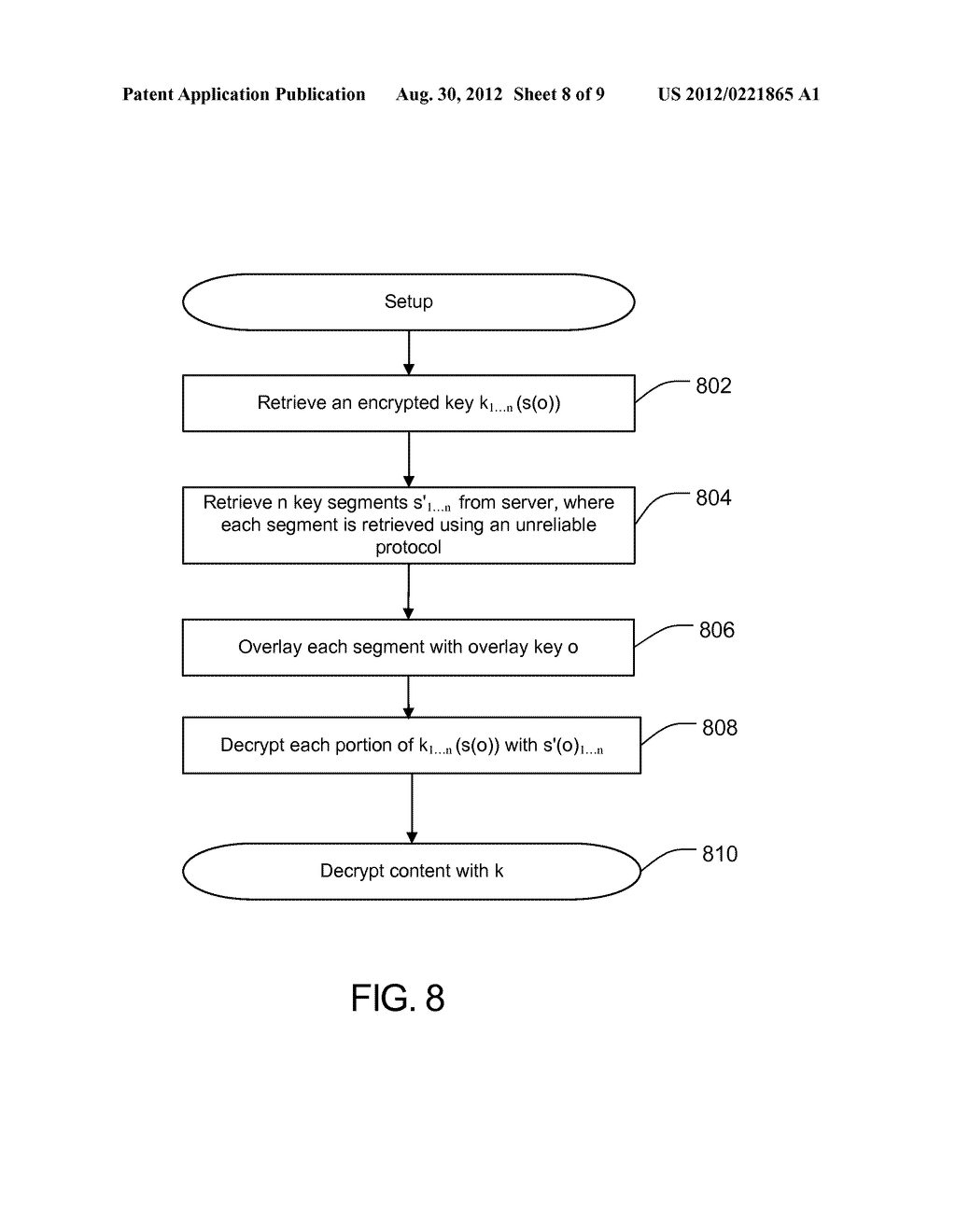 METHOD AND APPARATUS FOR PROTECTING CACHED STREAMS - diagram, schematic, and image 09