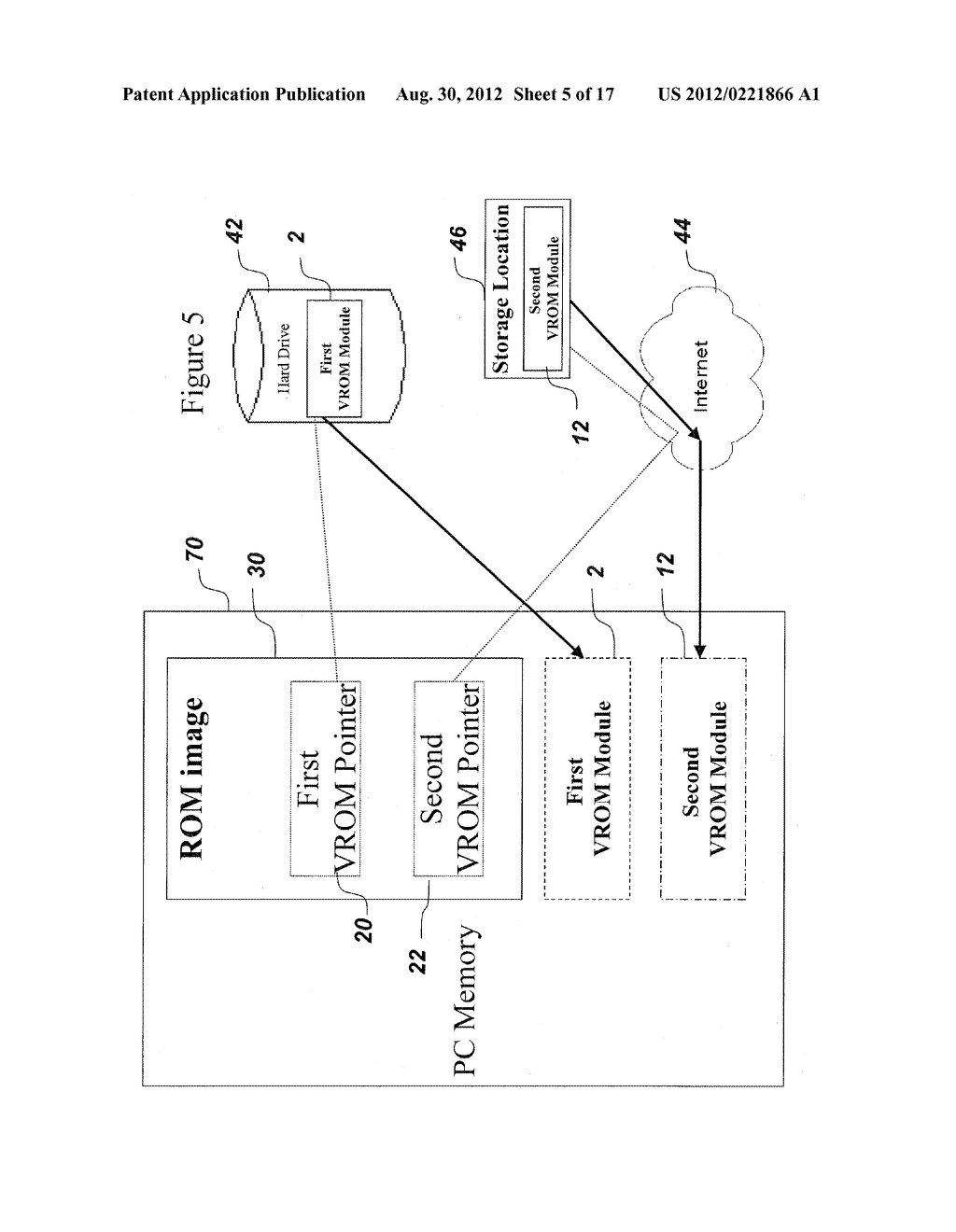SYSTEM AND METHOD FOR SECURELY STORING FIRMWARE - diagram, schematic, and image 06
