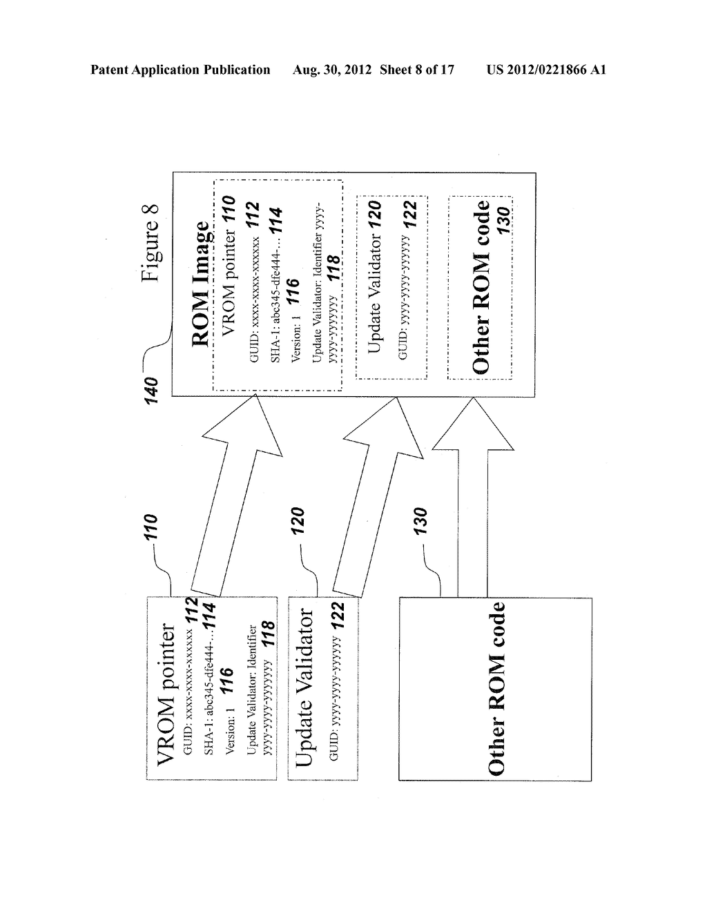 SYSTEM AND METHOD FOR SECURELY STORING FIRMWARE - diagram, schematic, and image 09