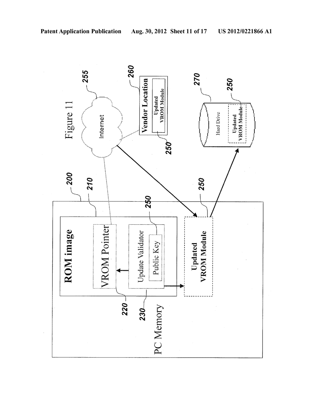 SYSTEM AND METHOD FOR SECURELY STORING FIRMWARE - diagram, schematic, and image 12