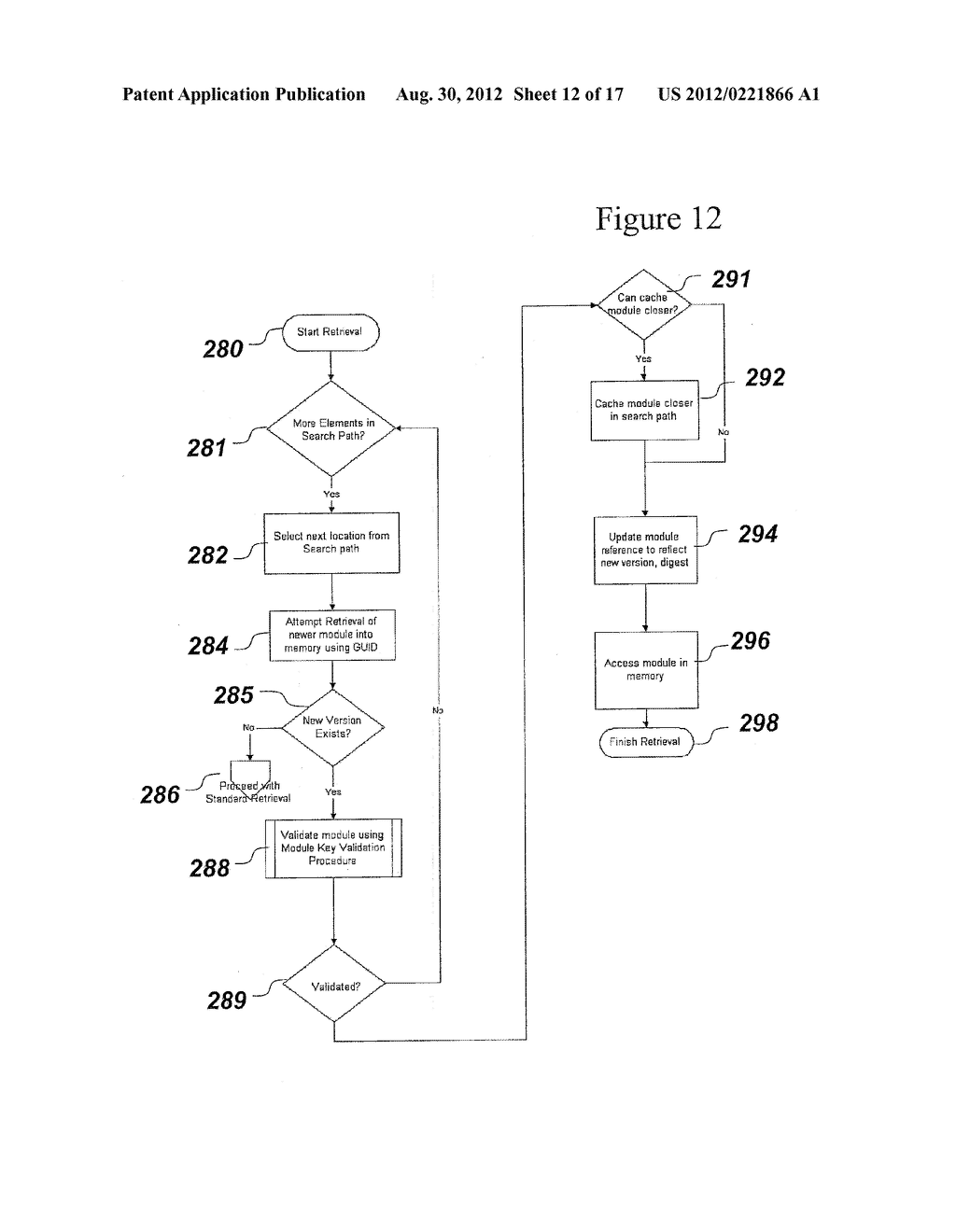 SYSTEM AND METHOD FOR SECURELY STORING FIRMWARE - diagram, schematic, and image 13