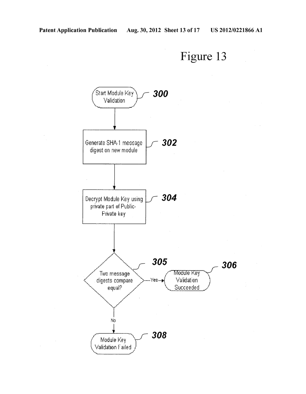 SYSTEM AND METHOD FOR SECURELY STORING FIRMWARE - diagram, schematic, and image 14