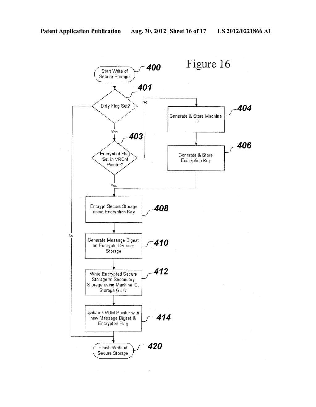 SYSTEM AND METHOD FOR SECURELY STORING FIRMWARE - diagram, schematic, and image 17