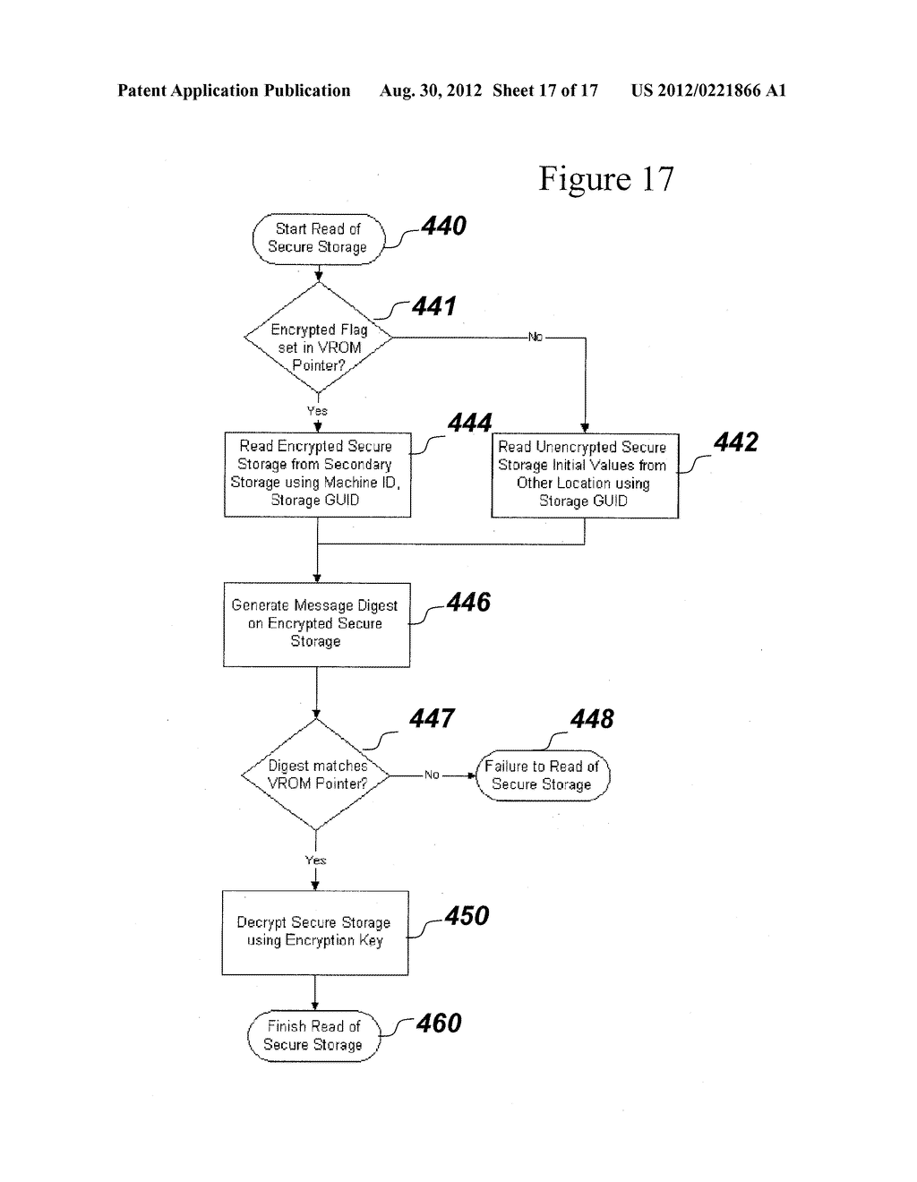 SYSTEM AND METHOD FOR SECURELY STORING FIRMWARE - diagram, schematic, and image 18