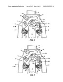 RETURN SPRING APPARATUS FOR A BICYCLE BRAKE diagram and image
