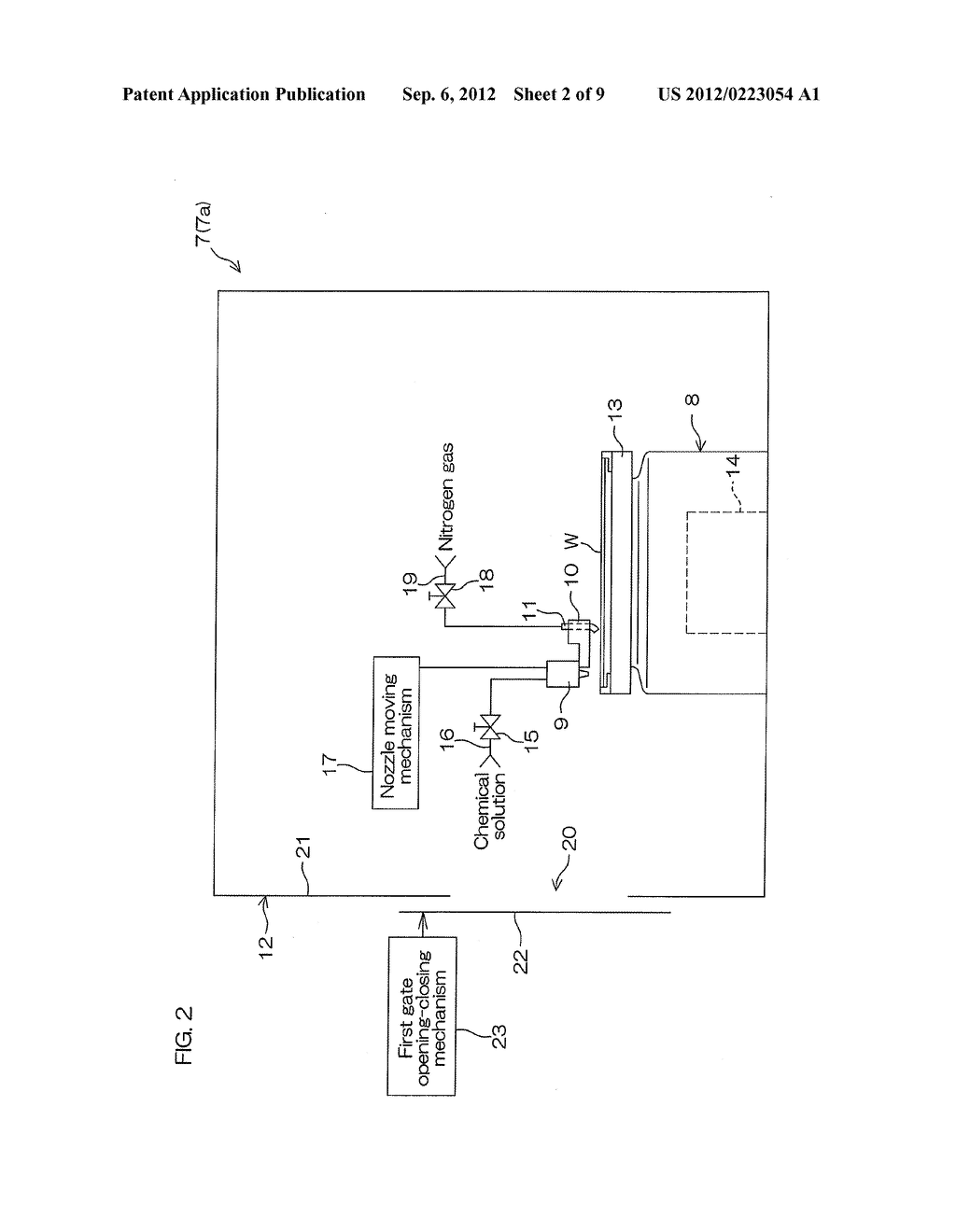 SUBSTRATE PROCESSING APPARATUS AND SUBSTRATE PROCESSING METHOD - diagram, schematic, and image 03