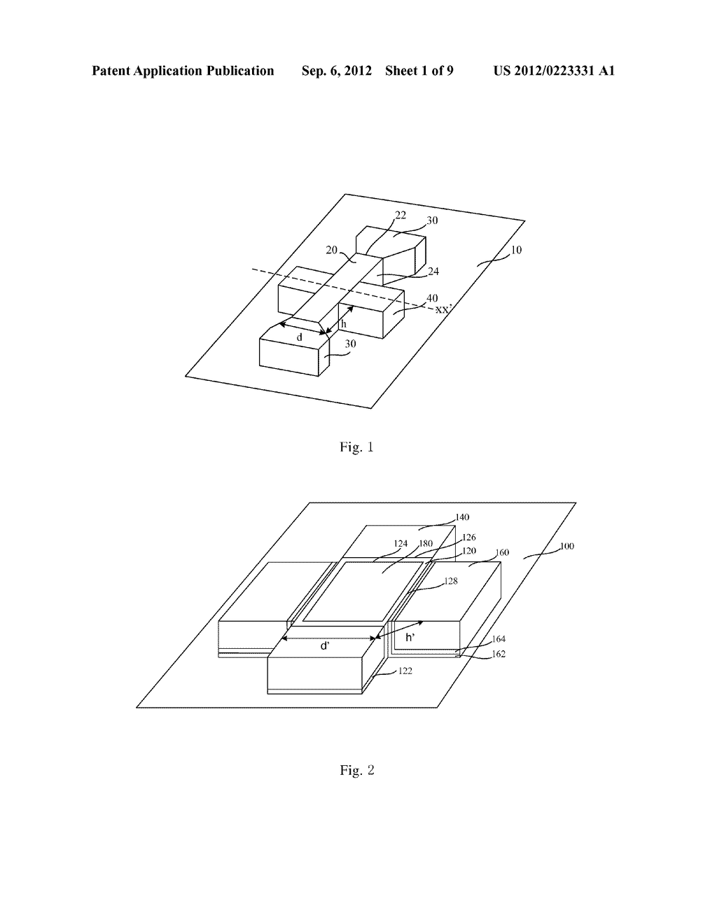 SEMICONDUCTOR DEVICE AND METHOD FOR FORMING THE SAME - diagram, schematic, and image 02