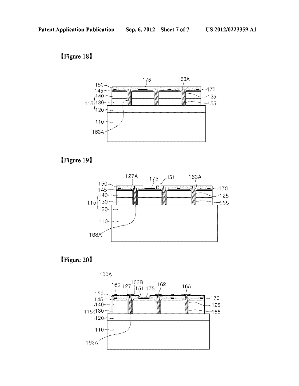 SEMICONDUCTOR LIGHT EMITTING DEVICE AND METHOD OF FABRICATING THE SAME - diagram, schematic, and image 08