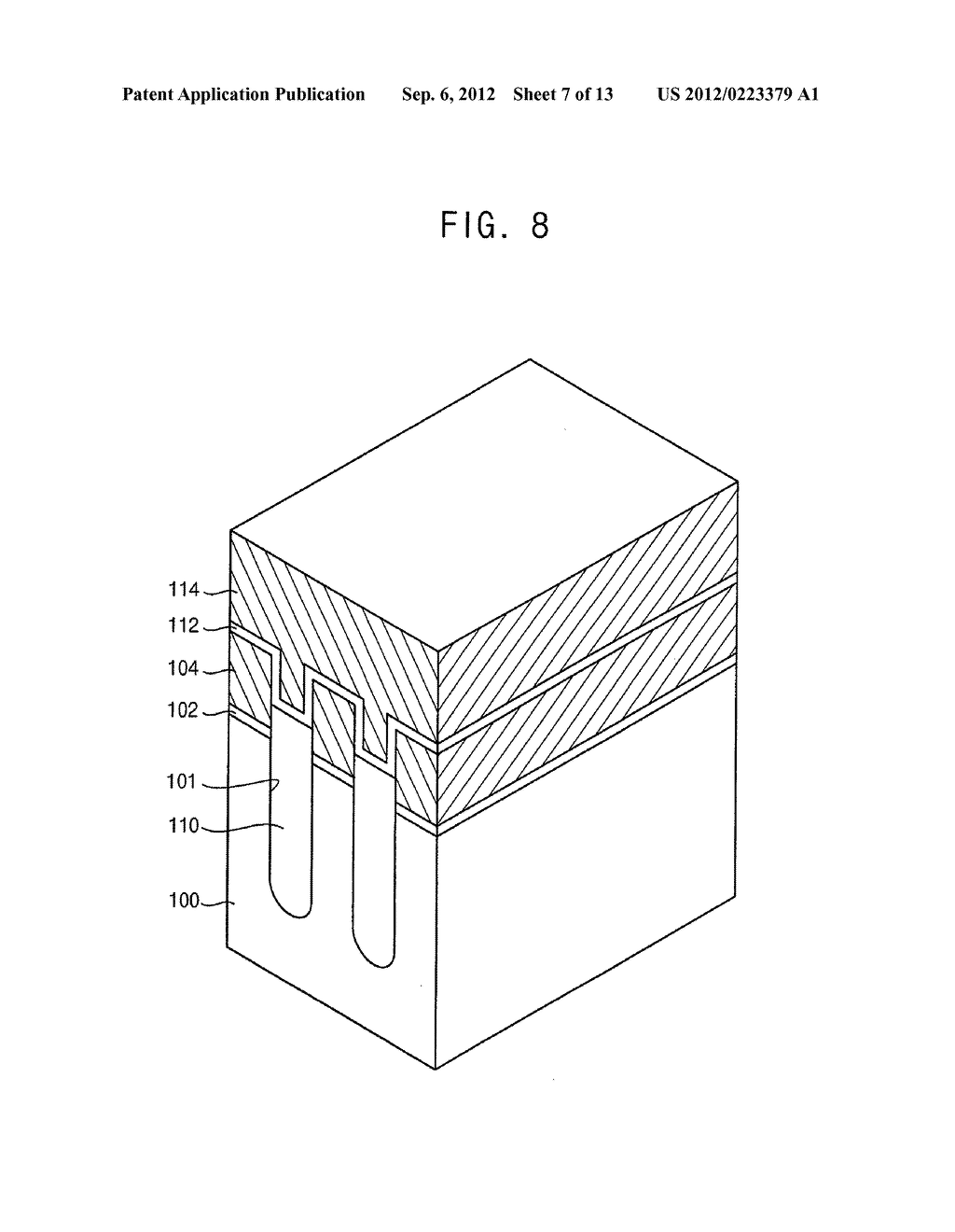 NON-VOLATILE MEMORY DEVICES AND METHODS OF MANUFACTURING THE SAME - diagram, schematic, and image 08