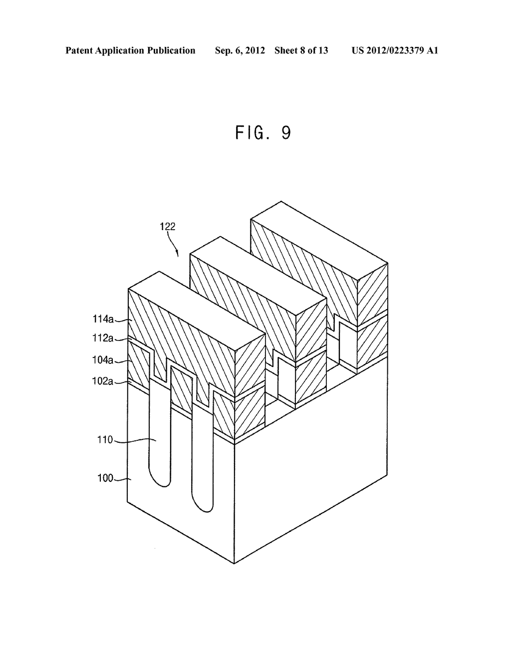 NON-VOLATILE MEMORY DEVICES AND METHODS OF MANUFACTURING THE SAME - diagram, schematic, and image 09