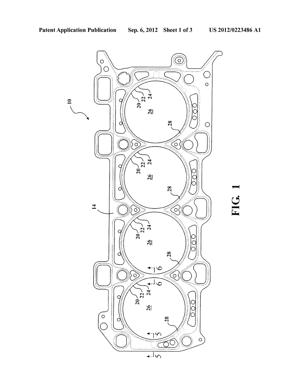 CYLINDER HEAD GASKET - diagram, schematic, and image 02