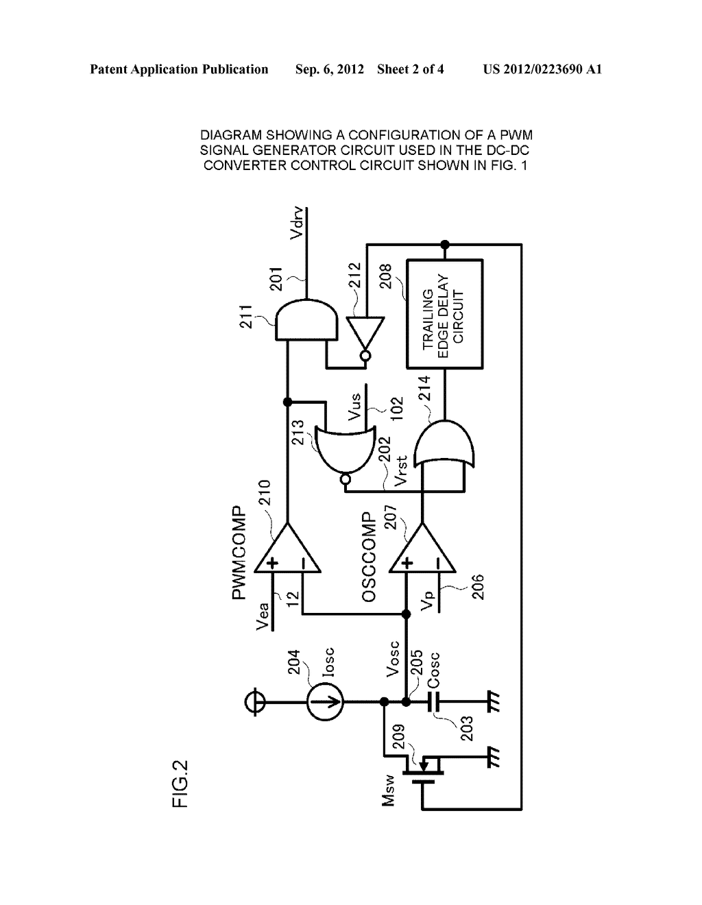 DC-DC CONVERTER CONTROL CIRCUIT AND CONTROL METHOD - diagram, schematic, and image 03