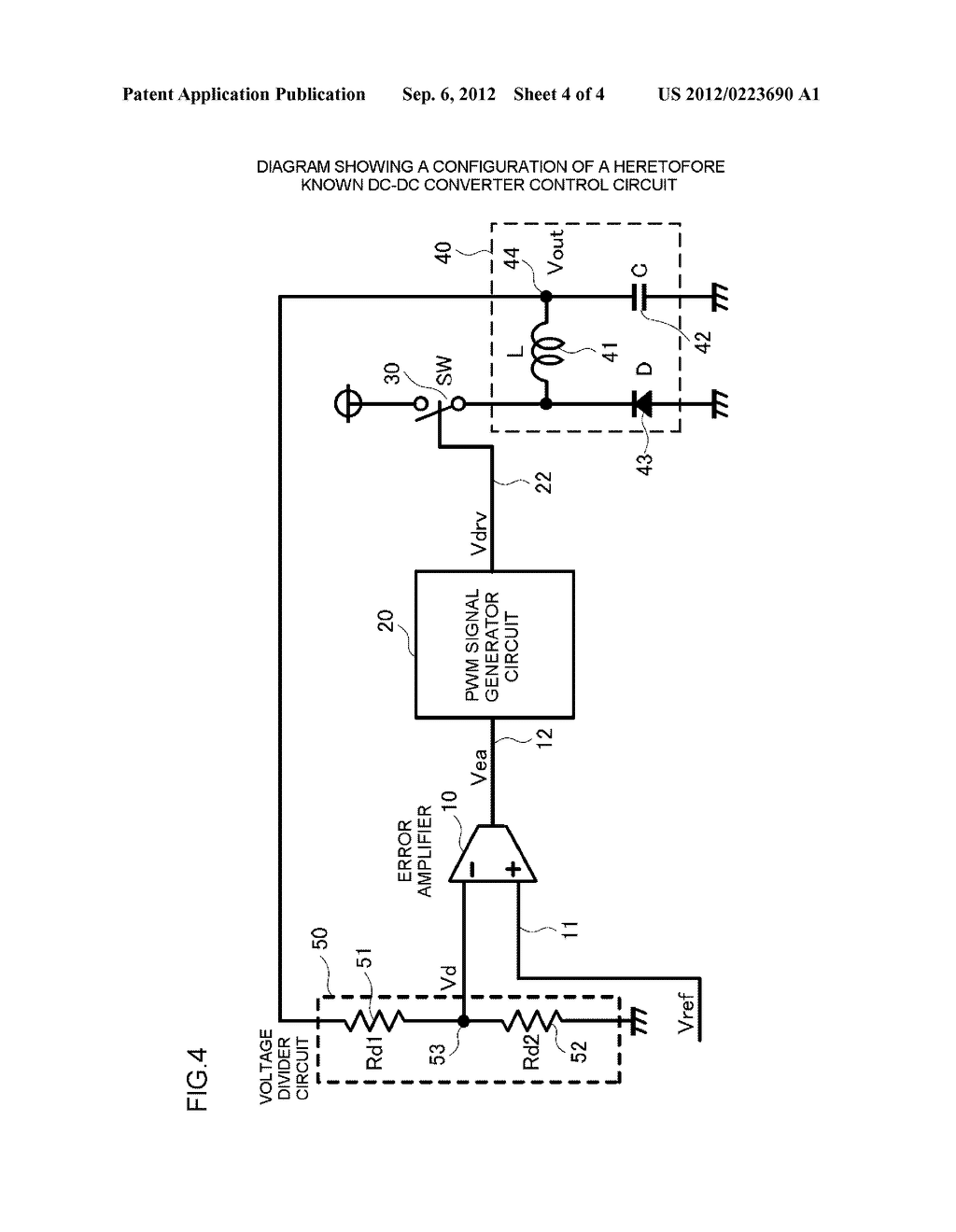 DC-DC CONVERTER CONTROL CIRCUIT AND CONTROL METHOD - diagram, schematic, and image 05